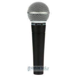 Shure SM58-LCE vokalinis mikrofonas
