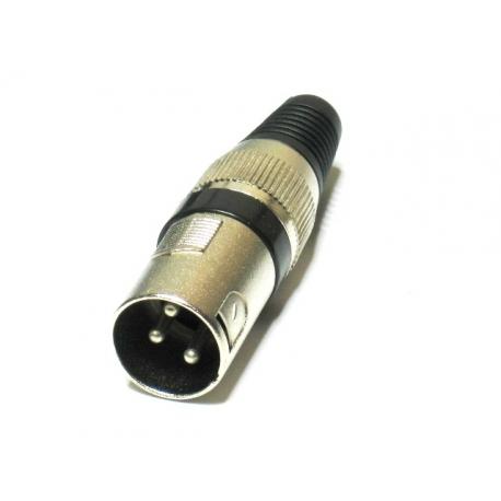 Kištukas mikrofonui XLR MALE HQ