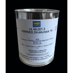 Kolonėlių dažai WARNEX BLACK 6kg