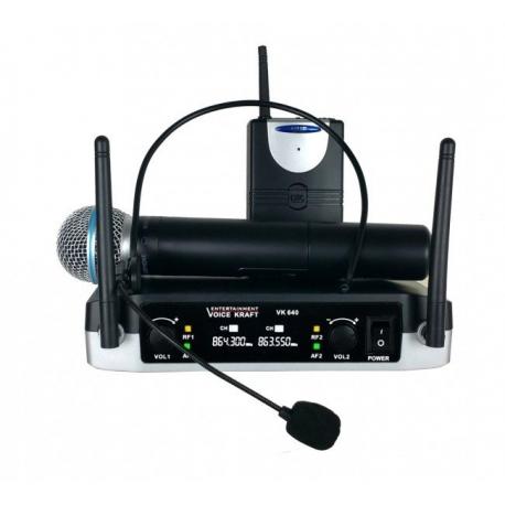 Bevieliai mikrofonai VK640