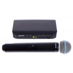 SHURE BLX24/BETA-58 bevielie mikrofono sistema