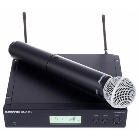 Shure BLX24R/SM58 bevielė mikrofono sistema