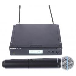 Shure BLX24R/Beta58 bevielė mikrofono sistema