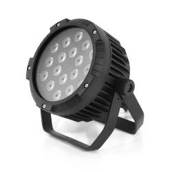 LED PAR 64 18x10W RGBW 4w1 IP65