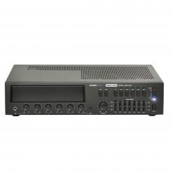 AMC MMA 120X penkių zonų stiprintuvai-mikšeriai su integruojamais moduliais ir zoniniu mikrofonu