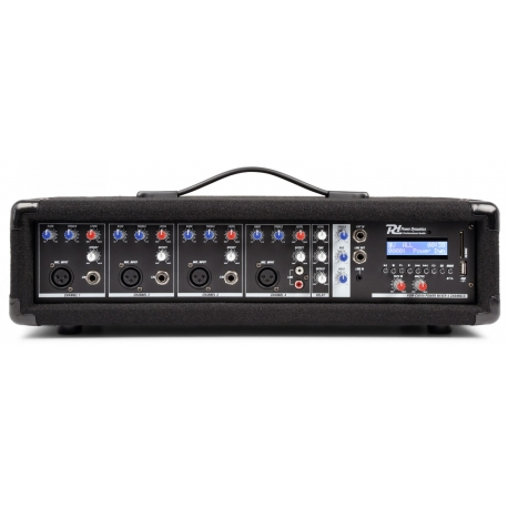 PDM-C405A 4-Channel Mixer with Amplifier
