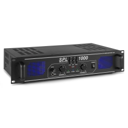 Skytec SPL 1000 AMPLIFIER 2X 500W EQ