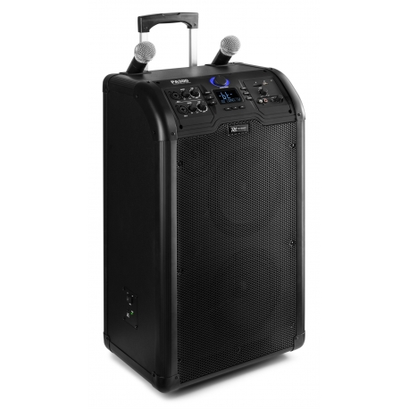 "Power Dynamics PA300 Portable 2 x 8"" Sound System SD/USB/MP3/Bluetooth"