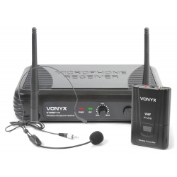 VONYX STWM711H 1-Channel VHF Wireless Headset Microphone System