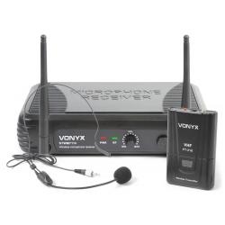 VONYX STWM711H 1-Channel VHF Wireless Headset Microphone System
