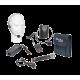PORT12VHF-MKII NEŠIOJAMA GARSO SISTEMA SU AKUMULIATORIUMI + 2X VHF BELAIDŽIAI MIKROFONAI, USB/SD/AUX/BLUETOOTH, 12''/30CM