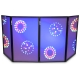 VONYX DB2 Foldable DJ Screen 120 x 70 (4 Panels)