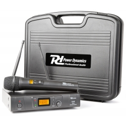 Power Dynamics PD781 1x 8-Channel UHF Wireless Microphone System with Microphone