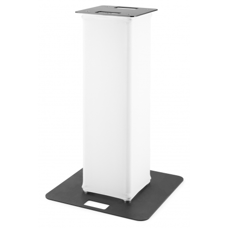 BeamZ P30 Tower 1 meter with white lycra
