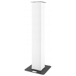 BeamZ P30 Tower 2 meter with white lycra