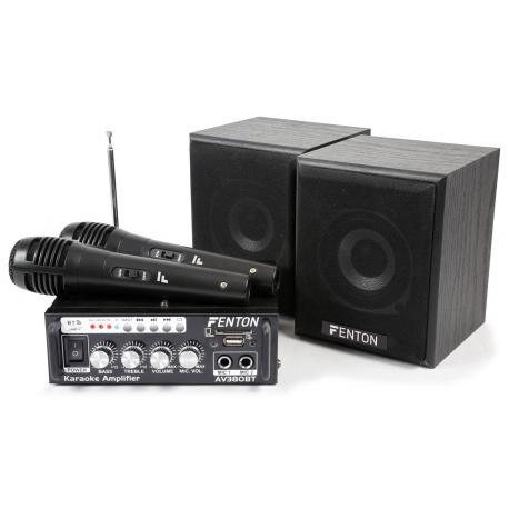 AV380BT Amplifier kit with speakers USB/SD/BT