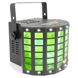 BeamZ Radical II LED Derby with laser RG and strobe