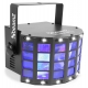 BeamZ LED Butterfly with strobe