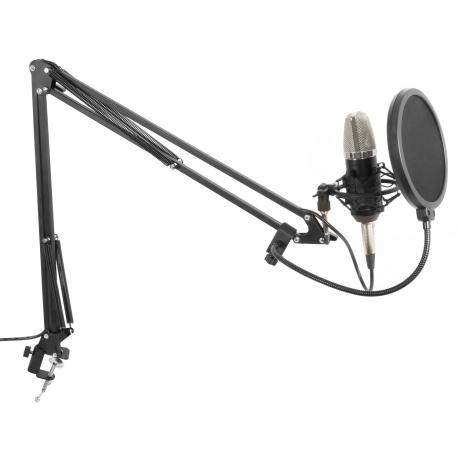 CMS400 Studijinis komplektas - mikrofonas, stovas, filtras