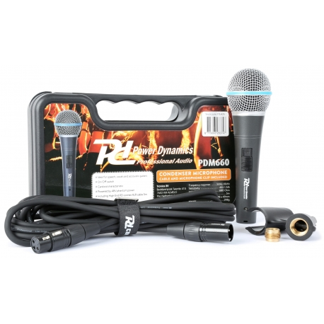 PDM660 kondensatorinis mikrofonas