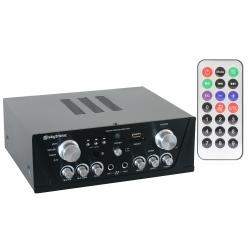 Skytronic AV420B Karaoke Amplifier USB/SD Black