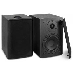 "FENTON SHF505B Powered BT Bookshelf Speakers 5.25"" MP3"