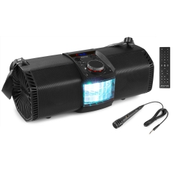 Fenton MDJ150 Party Station 200W with Battery and Derby LED effect