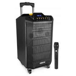 VONYX VPS10 Portable Sound System 10'' with BT
