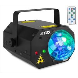 MAX DJ10 Jelly Moon with Red/Green Laser