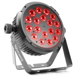 BeamZ BT320 LED Flat Par 18x6W 4-in-1 RGBW