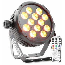 BeamZ BT300 FlatPAR 12x 10W 6-in-1 LEDs