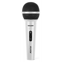 FENTON DM100W Dynamic Microphone White