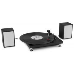 Fenton RP155B Record Player Set Black