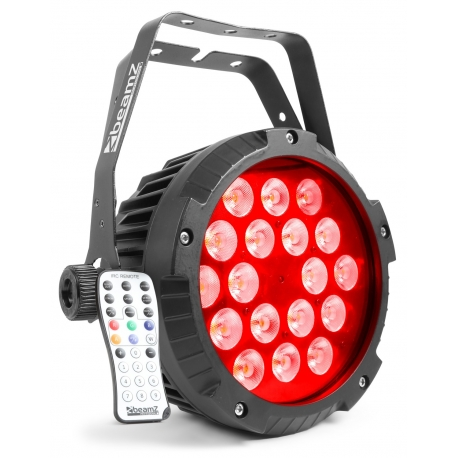 BeamZ BWA418 Aluminum IP65 LED PAR