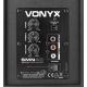 """VONYX SMN40W Active Studio Monitor 4"""" Pair"""